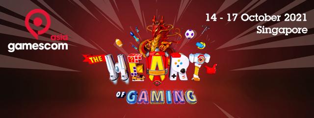 asia gamescom   15-18 October 2020 Suntec, Singapore